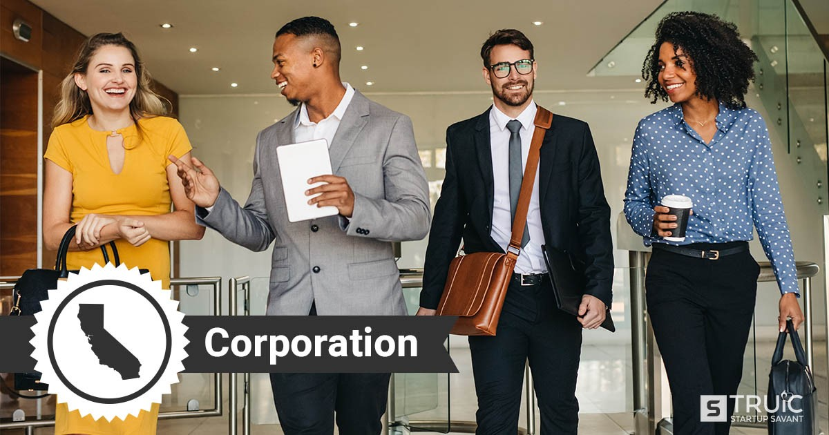how to start a corporation in California